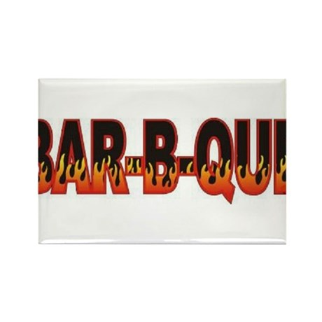 Bar b Que Rectangle Magnet (10 pack)