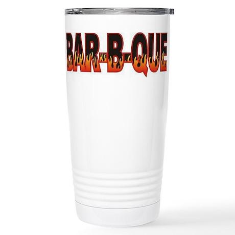 Bar b Que Stainless Steel Travel Mug