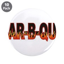 "Bar b Que 3.5"" Button (10 pack)"
