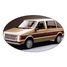 1984 Dodge Caravan Oval Decal
