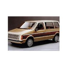 1984 Dodge Caravan Rectangle Magnet