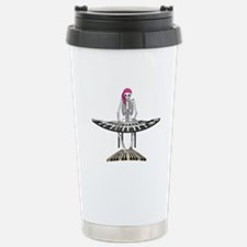 Keyboard Skeleton Stainless Steel Travel Mug