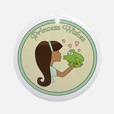 Princess Wishes Ornament (Round)