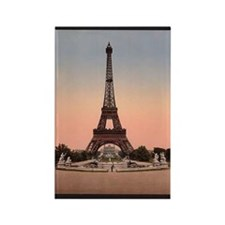 Eiffel Tower circa 1900 Rectangle Magnet