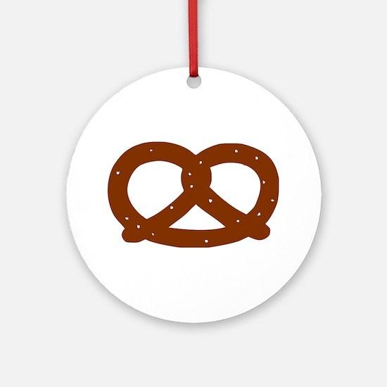 Pretzel Ornament (Round)