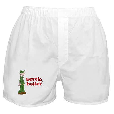 Beetle Bailey Logo Boxer Shorts