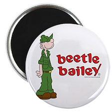 Beetle Bailey Logo Magnet