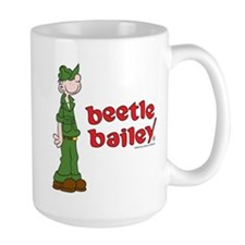 Beetle Bailey Logo Large Mug