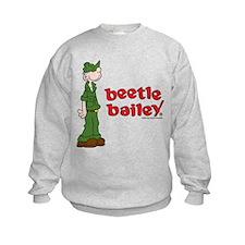 Beetle Bailey Logo Kids Sweatshirt