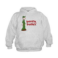 Beetle Bailey Logo Kids Hoodie