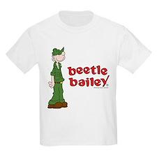 Beetle Bailey Logo Kids Light T-Shirt