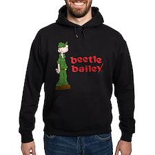 Beetle Bailey Logo Hoodie (dark)