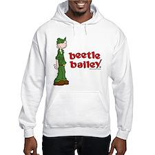 Beetle Bailey Logo Hooded Sweatshirt