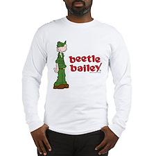 Beetle Bailey Logo Long Sleeve T-Shirt