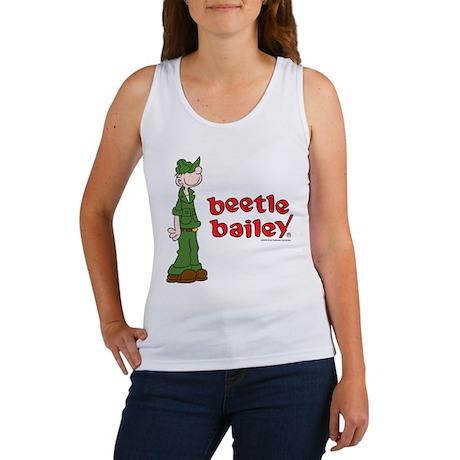 Beetle Bailey Logo Women's Tank Top