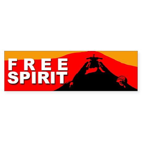 Free Spirit Bumper Sticker