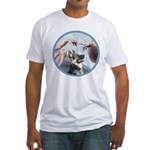 Creation-G-Shep (15) Fitted T-Shirt