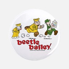 """Otto, Sarge, and Beetle Chase 3.5"""" Button"""