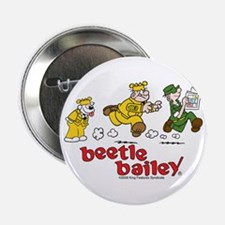 """Otto, Sarge, and Beetle Chase 2.25"""" Button"""