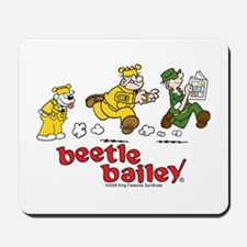 Otto, Sarge, and Beetle Chase Mousepad