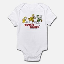 Otto, Sarge, and Beetle Chase Infant Bodysuit