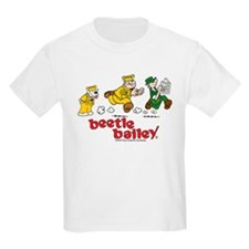 Otto, Sarge, and Beetle Chase Kids Light T-Shirt