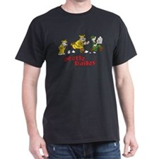 Otto, Sarge, and Beetle Chase Dark T-Shirt