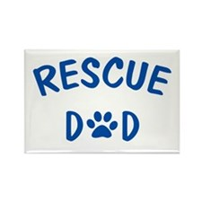 Rescue Dad Rectangle Magnet (10 pack)