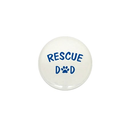 Rescue Dad Mini Button