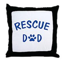 Rescue Dad Throw Pillow