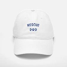 Rescue Dad Baseball Baseball Cap