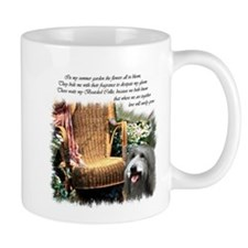 Bearded Collie Art Mug