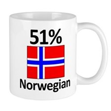 51% Norwegian Small Mug