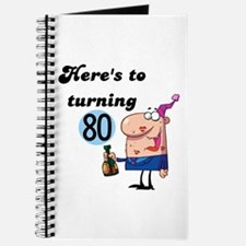 80th Birthday Journal