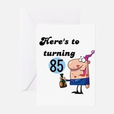 85th Birthday Greeting Cards (Pk of 10)
