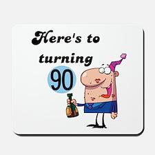 90th Birthday Mousepad