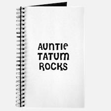 AUNTIE TATUM ROCKS Journal