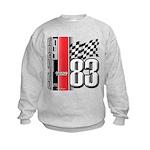 Mustang 83 RWB Kids Sweatshirt