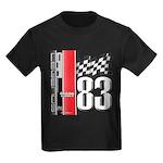 Mustang 83 RWB Kids Dark T-Shirt