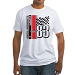 Mustang 83 RWB Fitted T-Shirt