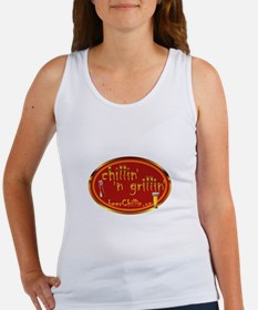Unique Grillin and chillin Women's Tank Top