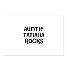 AUNTIE TATIANA ROCKS Postcards (Package of 8)