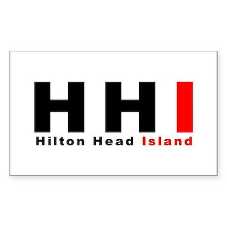 Hilton Head Island Rectangle Sticker