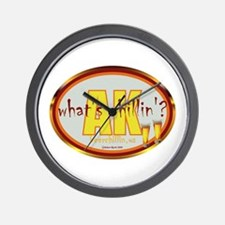 Cool Grillin and chillin Wall Clock
