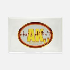 Cool Grillin and chillin Rectangle Magnet