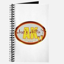 Funny Grillin and chillin Journal