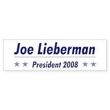 Lieberman 08 Bumper Bumper Sticker