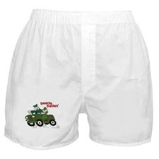 Beetle and Sarge in Jeep Boxer Shorts