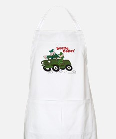 Beetle and Sarge in Jeep BBQ Apron