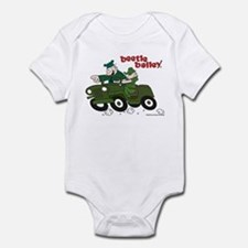 Beetle and Sarge in Jeep Infant Bodysuit